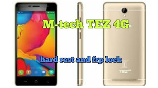 Mtech Tez 4g frp and pattern remove....