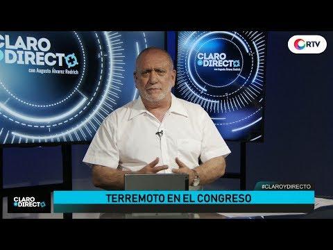 Terremoto en el Congreso   Claro y Directo con Augusto Álvarez Rodrich