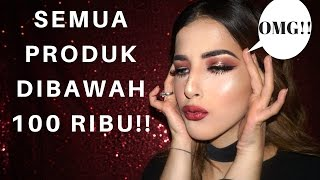 FOCALLURE ONE BRAND MAKEUP TUTORIAL!! - MUST WATCH (bahasa)