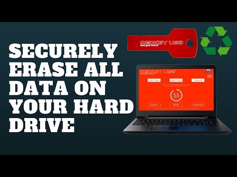 Securely Erase All Data On Your Hard Drive