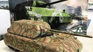 Building the Takom 1/35 Maus  188 Ton Super Heavy Tank