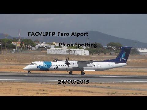 FAO/LPFR Faro Airport Plane Spotting 24/08/2015