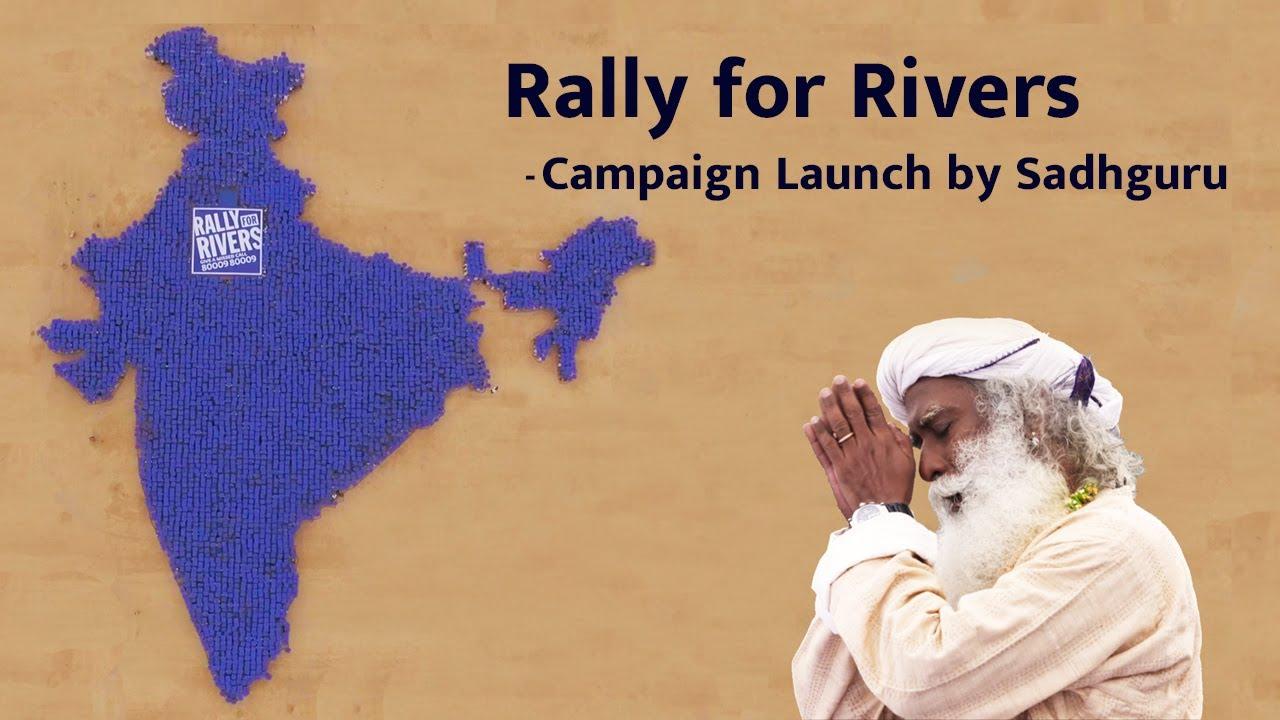 Image result for rally for rivers sadhguru