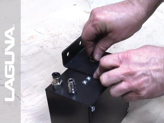 REVO 1836 Lathe Setup - Install The Vacuum Inverter - Part 8