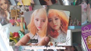 레드벨벳 ♡ i bought red velvet photocards for the first time uwu