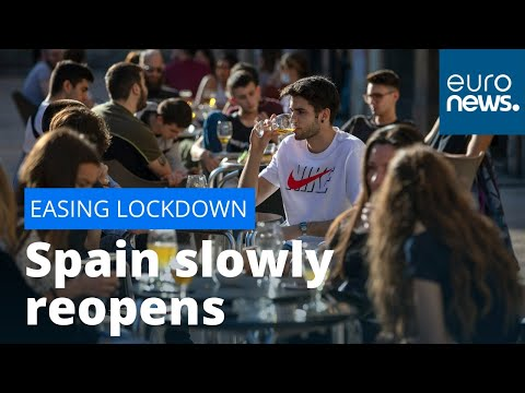 The 'new normal': Spain slowly reopens after two months of strict lockdown