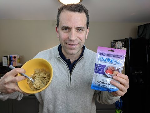 FREEZINda™   Turn Your Whey Protein Powder Into Ice Cream Like Frozen Dessert! Review And Demo