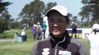 Peiyun Chien talks open round 68 at the 2019 LPGA MEDIHEAL Championship