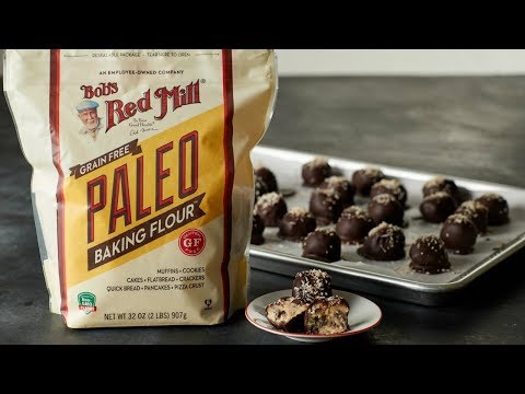 Paleo Cookie Dough Truffles