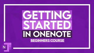 OneNote Tutorial Getting Started With Microsoft OneNote - 3.5 Hour OneNote Class