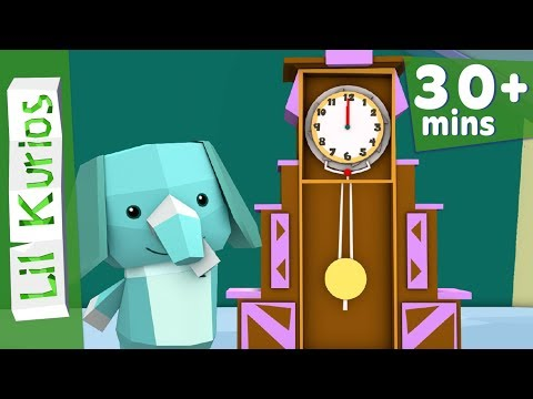 Hickory, Dickory, Dock | Elephant | Plus More Nursery Rhymes & Kids Songs | 37 Minutes | Lil Kurios