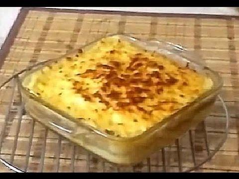 Запеканка картошка фарш сыр