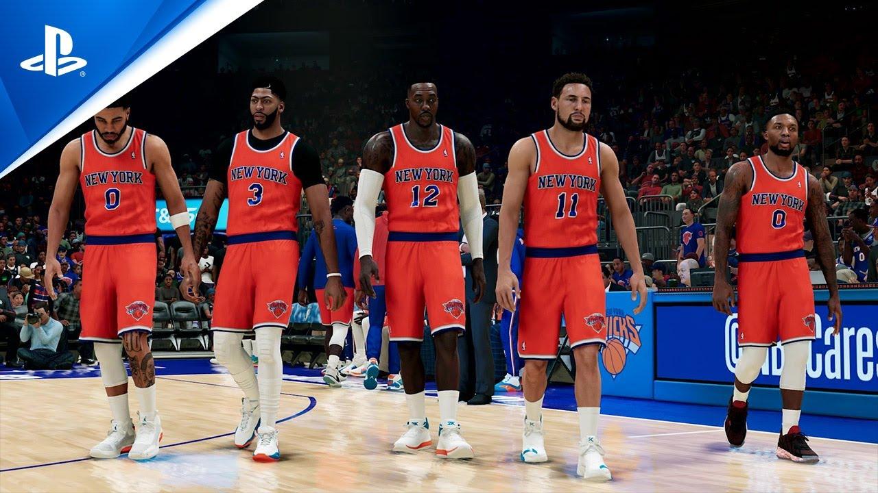 NBA 2K22 – Tráiler de vista previa de Mi EQUIPO | PS5, PS4