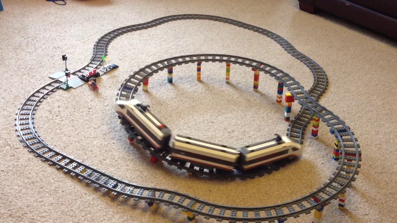 Lego city trains track layouts and ideas youtube
