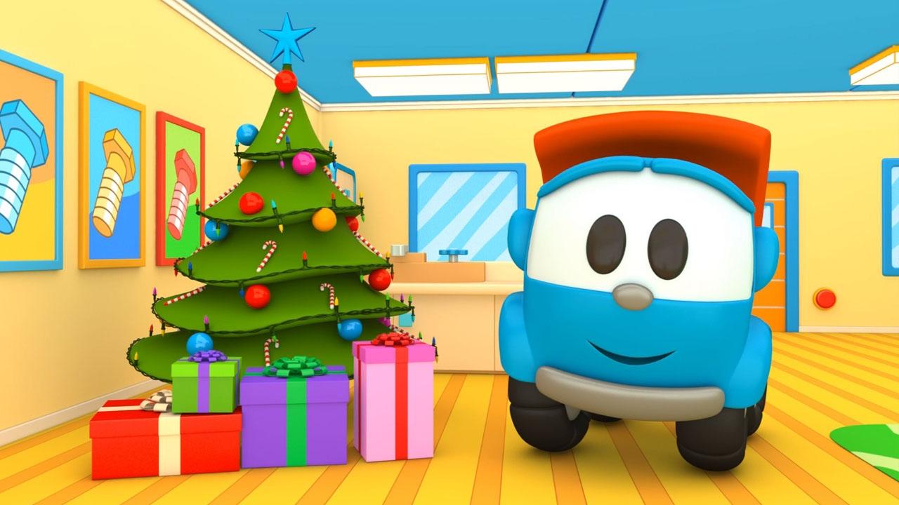 Cartoni animati per bambini camioncino leo e la festa di
