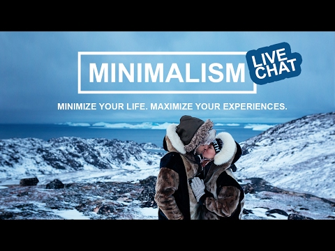 LIVE CHAT: Minimalism and Travel