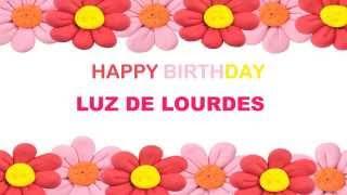 LuzdeLourdes   Birthday Postcards & Postales - Happy Birthday