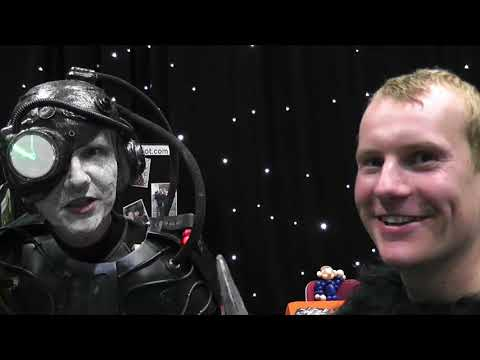 Borg (Star Trek) and Caesar (Planet of the Apes) Cosplayers Interview at GEEKS Barnsley Comic Con