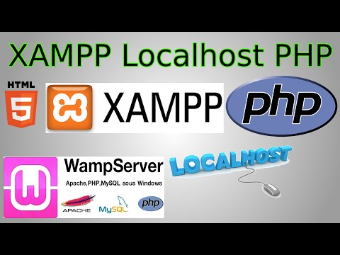 How to Set-Up & Install XAMPP localhost (test php locally & change port number)
