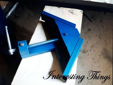 How to make  90 degrees angle clamp DIY
