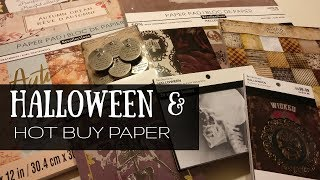Michaels Halloween and Hot Buy Paper!! 8/17/18