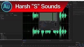 """How to Remove Sibilance in Audition – Reduce Harsh """"S"""" Sounds with the Audition De Esser"""