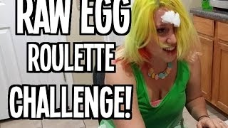 Raw Egg Roulette CHALLENGE!