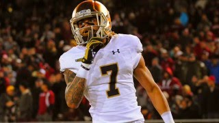 Best Deep Threat in College Football  Notre Dame WR Will Fuller 2015 Highlights
