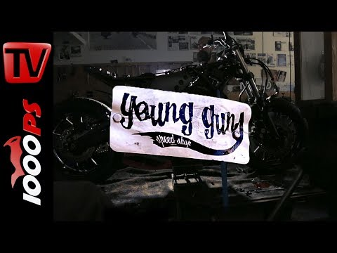 Yamaha XSR 700 YardBuild Young guns Umbau Teaser Wheels and Waves 2017