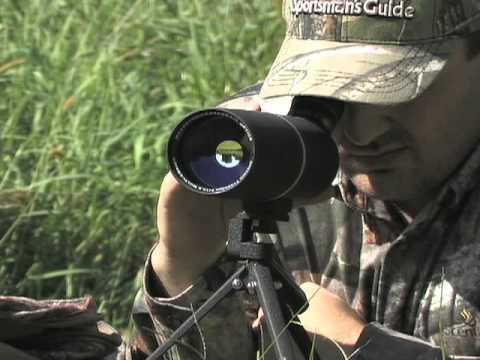 AIM Sports 30-90x65mm Spotting Scope