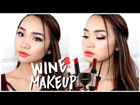Wine Inspired Fall Makeup Tutorial ✘ Lisa Phan