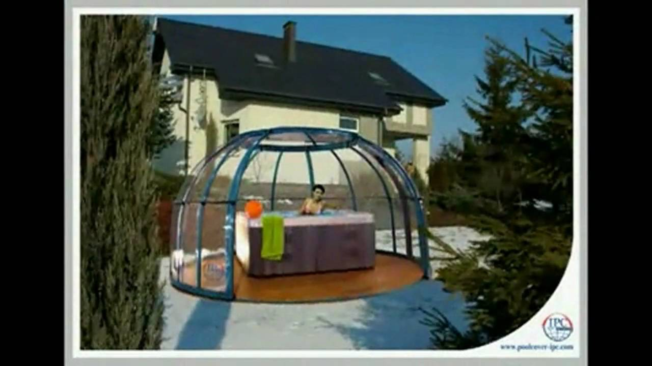 Retractable Pool Spa And Hot Tub Enclosure Slideshow You. Roof