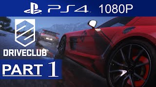 Driveclub Walkthrough Part 1 Campaign Mode [1080p HD PS4] - Driveclub Gameplay - No Commentary