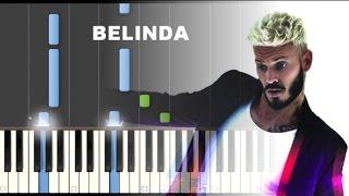 Comment jouer BELINDA au piano (M. Pokora - C. François)