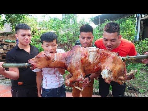 Hữu Bộ | Bò Quay Nguyên Con | Grilled Beef