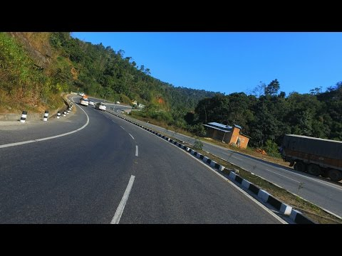 Guwahati to Shillong - Road Journey - Cinematic - DJI OSMO