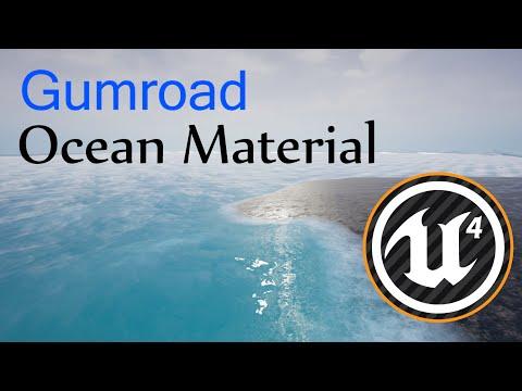 Ocean shader UE4 Download GUMROAD