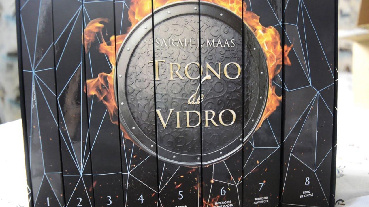 UNBOXING do NOVO BOX de TRONO DE VIDRO da Galera Record