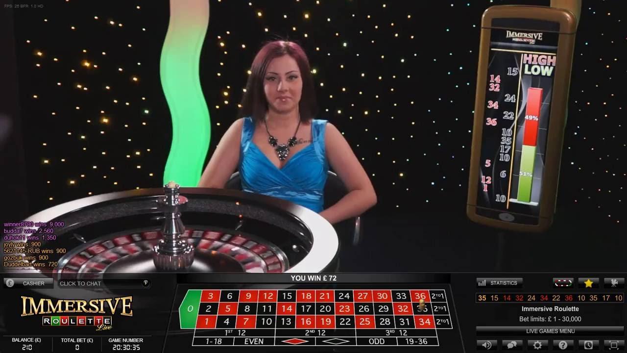 10 Build Up Live Dealer Immersive Roulette Youtube