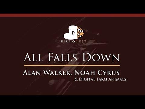 alan-walker,-noah-cyrus---all-falls-down---higher-key-(piano-karaoke-/-sing-along)
