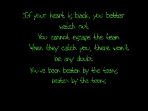 Teen titans theme song japanese lyrics