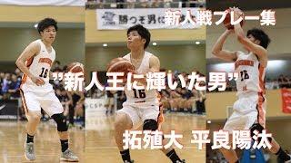 【新人王】平良陽汰 プレー集 【2018新人戦】 thumbnail