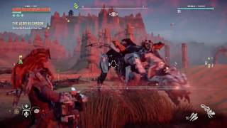 Horizon Zero Dawn Clear Level 34 Corrupted Zone with Help from Ravagers