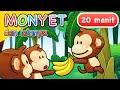 Lagu Anak | Monyet dan Lainnya | 20 Menit