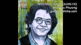 NHỮNG CÔ GÁI QUAN HỌ - Guitar Solo