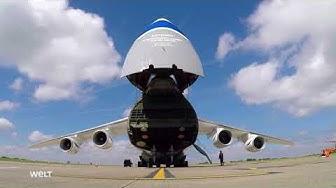 DIE WELT - Antonov 124 - Megatransporter der Lüfte