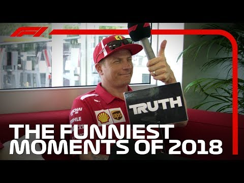 F1 Rewind: The Funniest Moments of 2018