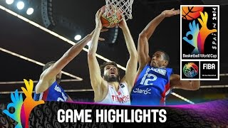 Turkey v Dominican Republic - Game Highlights - Group C - 2014 FIBA Basketball World Cup