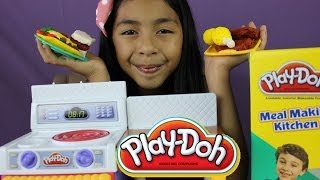PLAY -DOH MEAL MAKIN KITCHEN PLAY- DOH REVIEW & PLAY  B2cutecupcakes