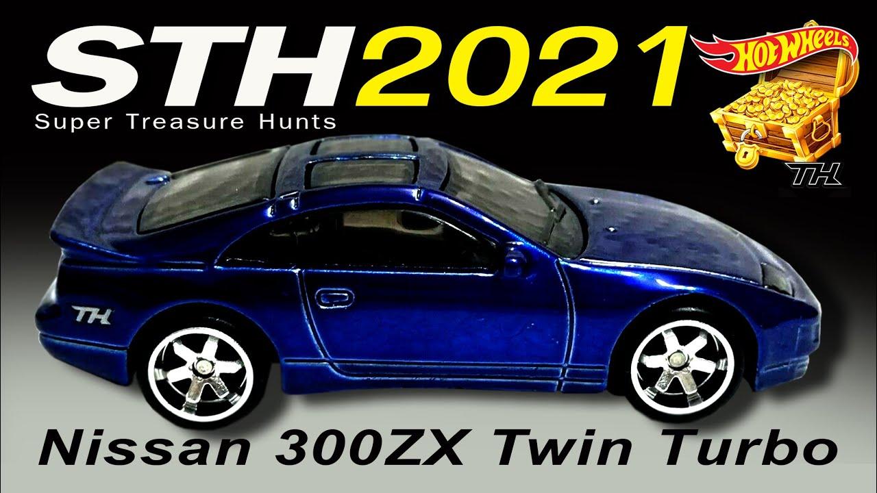 Nissan 300ZX Twin Turbo #23 1//5 Turbo 2021 Hot Wheels Case A
